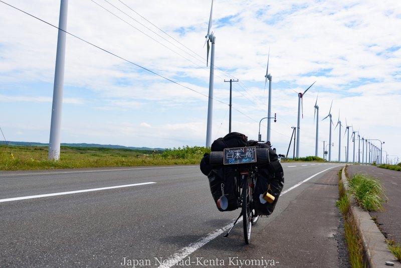 自転車日本一周82日目(オロロンライン)-Japan Nomad (22)