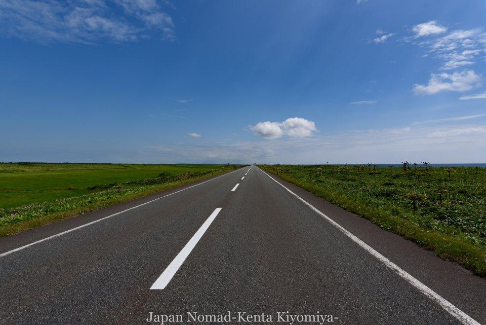 自転車日本一周82日目(オロロンライン)-Japan Nomad (30)