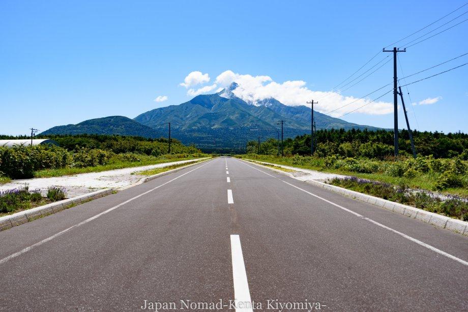 自転車日本一周85日目(利尻島)-Japan Nomad (12)