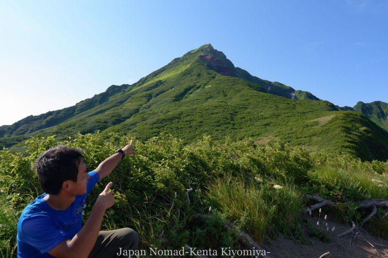 自転車日本一周86日目(利尻山)-Japan Nomad (22)
