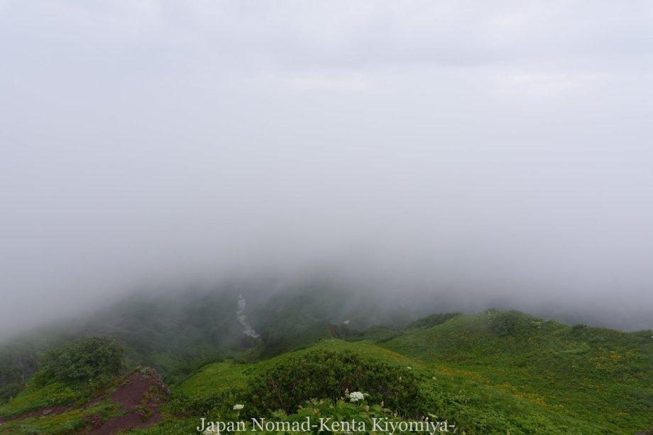 自転車日本一周86日目(利尻山)-Japan Nomad (34)