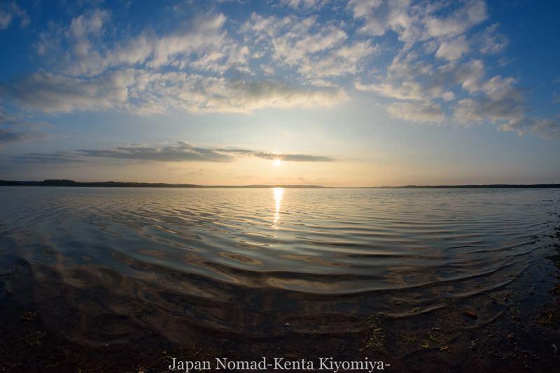 自転車日本一周89日目(宗谷岬、クッチャロ湖)-Japan Nomad (35)