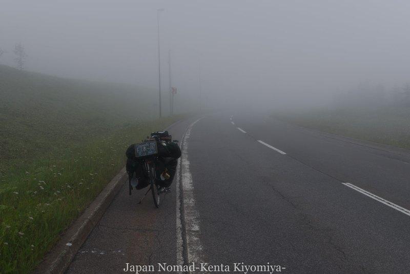 自転車日本一周96日目(美幌峠)-Japan Nomad (15)