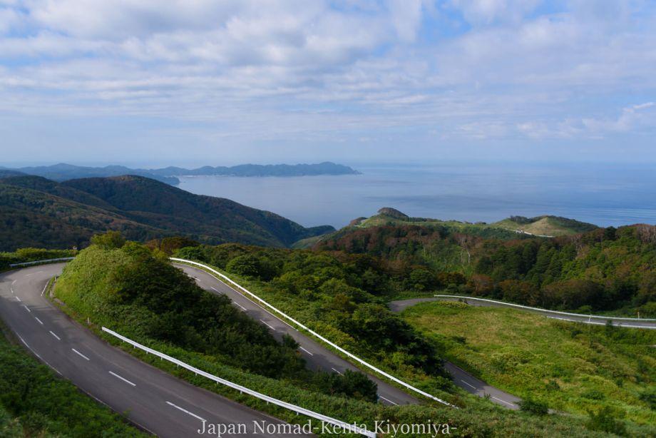自転車日本一周(十三湖、しじみラーメン)-Japan Nomad (7)
