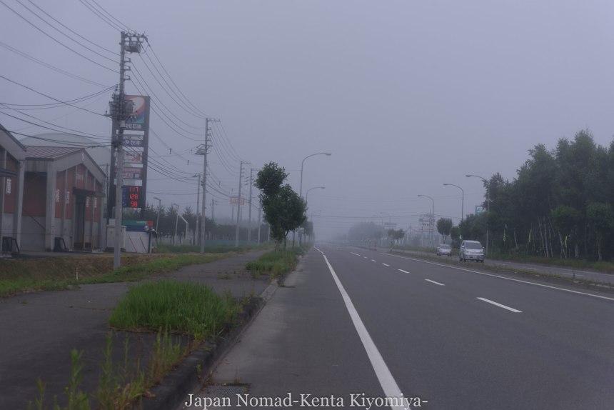 自転車日本一周(日勝峠)-Japan Nomad (3)