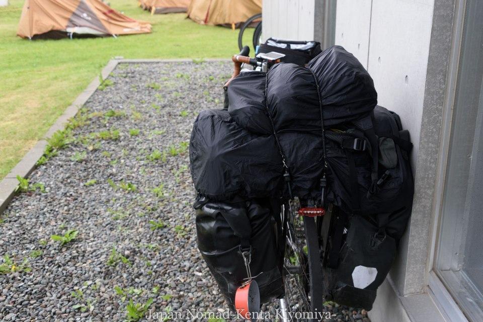 自転車日本一周105日目(マルトマ食堂)-Japan Nomad (3)