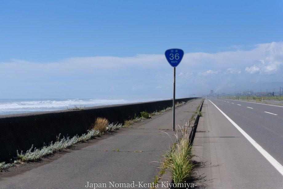 自転車日本一周114日目(地球岬、室蘭工場夜景)-Japan Nomad (5)