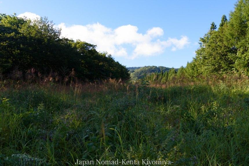 自転車日本一周123日目(岩木山)-Japan Nomad (18)