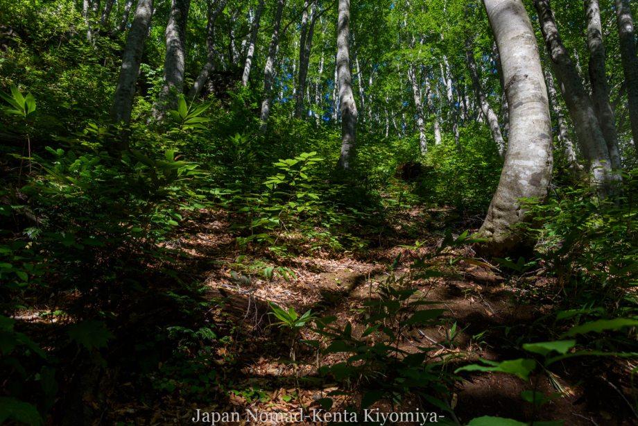 自転車日本一周123日目(岩木山)-Japan Nomad (33)