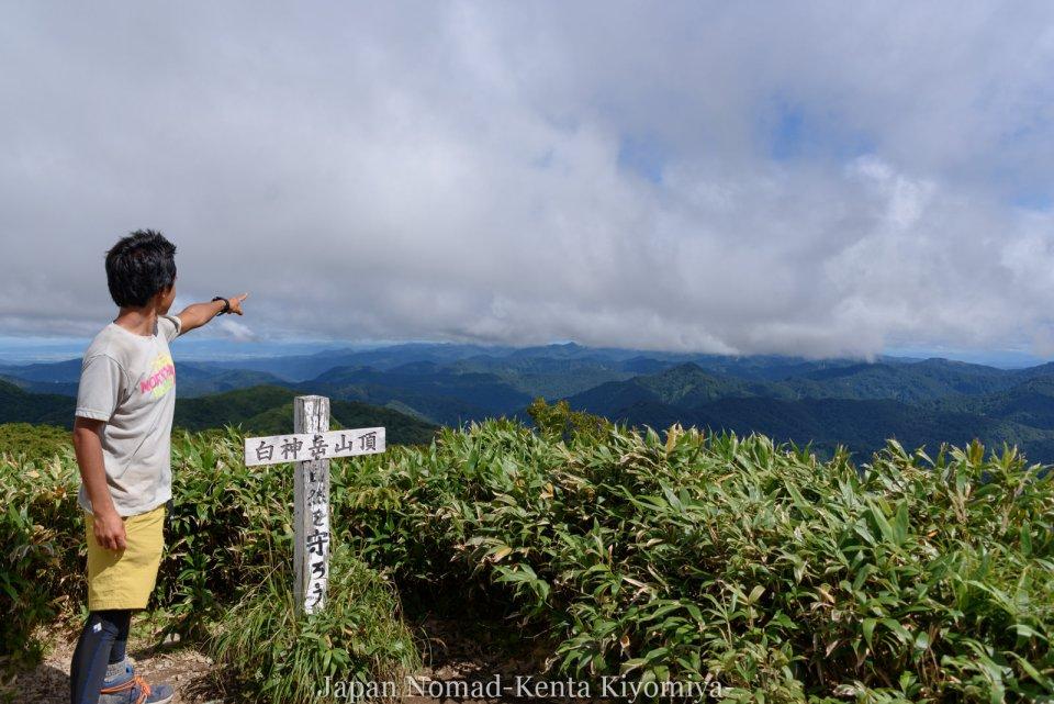 自転車日本一周125日目(白神山地、白神岳)-Japan Nomad (50)