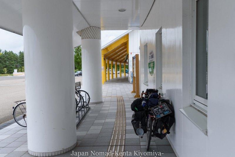 自転車日本一周126日目(台風10合)-Japan Nomad (26)