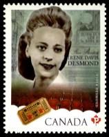 Viola Desmond Canadian stamp