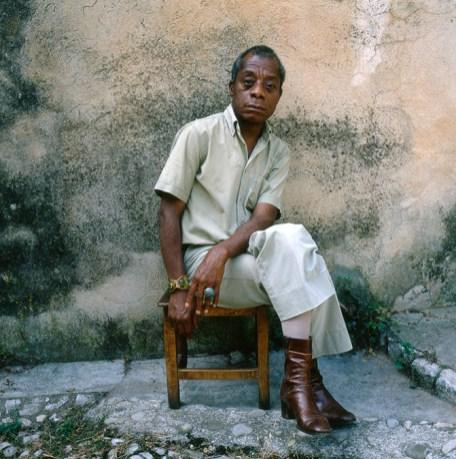 James Baldwin, France, 1979 Dmitri Kasterine