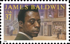 James Baldwin stamp