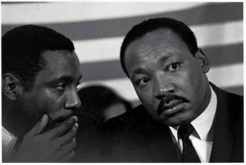 Dick Gregory and Martin Luther King Jr