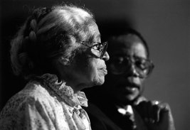 Fred Gray with Rosa Parks