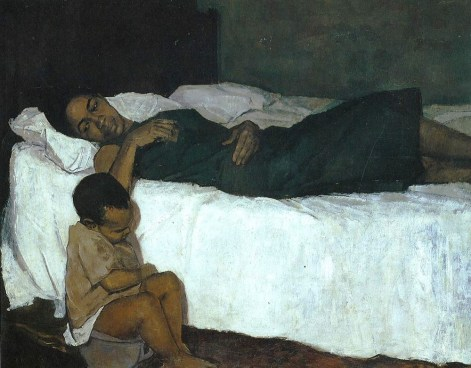 Barrington Watson's Mother and Child, 1958