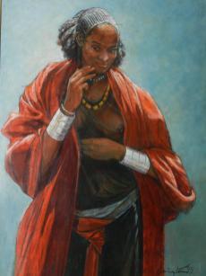Barrington Watson The Ethopian Woman