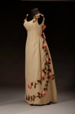 Anne Lowe American Beauty Dress, 1966-1967, Photo by Michael Barnes, National Museum of African American History and Culture, Donated by Mrs. John F Dowd and Barbara Baldwin Dowd of Watkinsville, GA in 1987