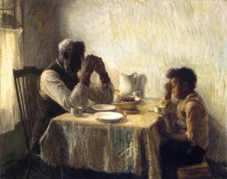 The Thankful Poor, 1894 by Henry Ossawa Tanner