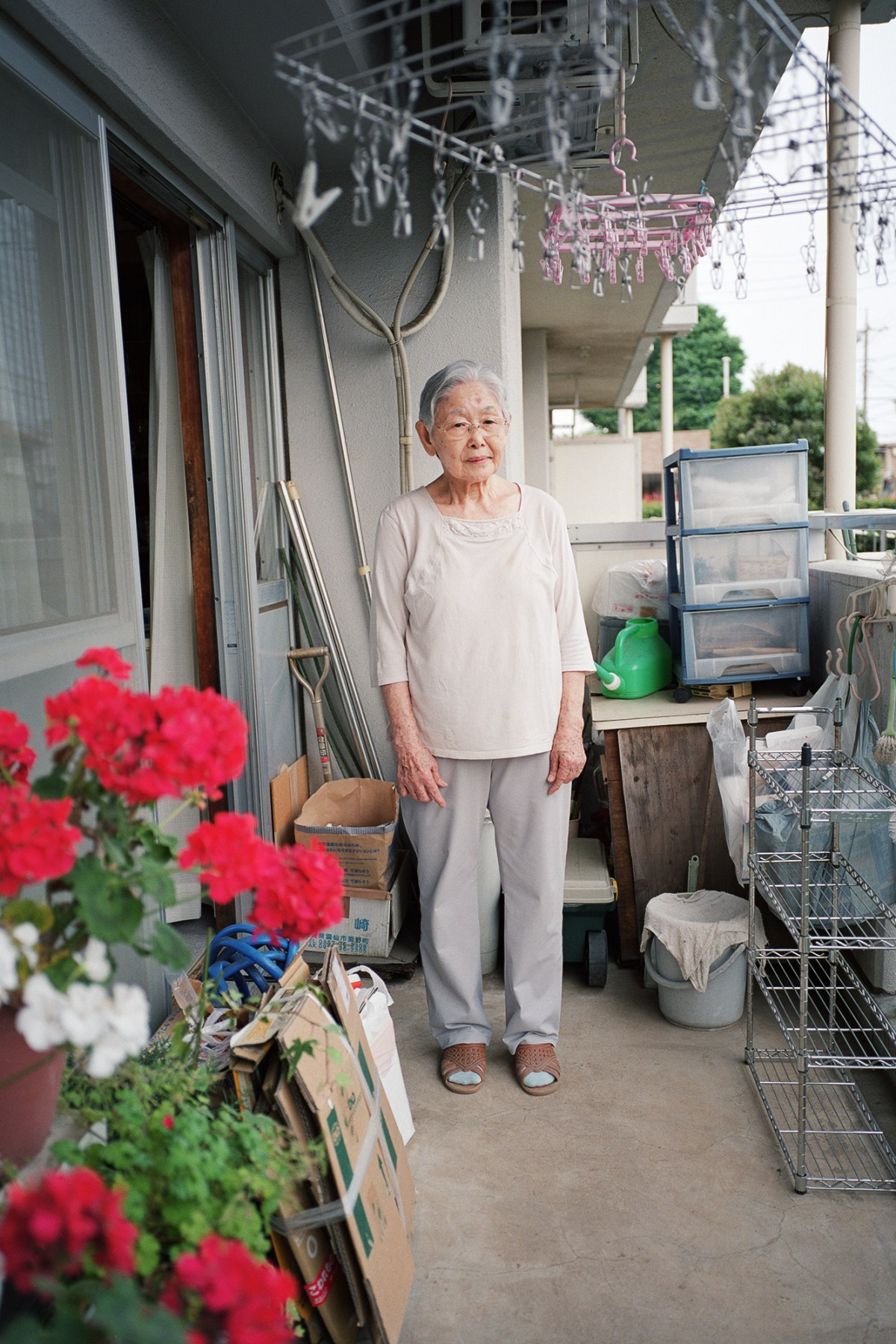 """Fusa Iwai (85) entered a military hospital training school when she graduated from junior high school in 1943. When she started at the training school, she would have to take care of and look after wounded soldiers who were returning from the war. As days passed, the bombing by the U.S. army where she lived became a greater threat and she had to look after civilians who were injured by the bombs. """"The only way to prevent war from happening is by having a dialogue. There must have been people back in those days who felt uncomfortable with their own society and politics. But if we were to criticize the politicians, we would get caught by the secret police. Even though, we should have discussed with others, neighbors about the changes to society much much more."""" Tokyo, May 2015."""