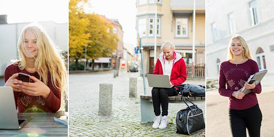 bildbyråbilder elev student porträtt