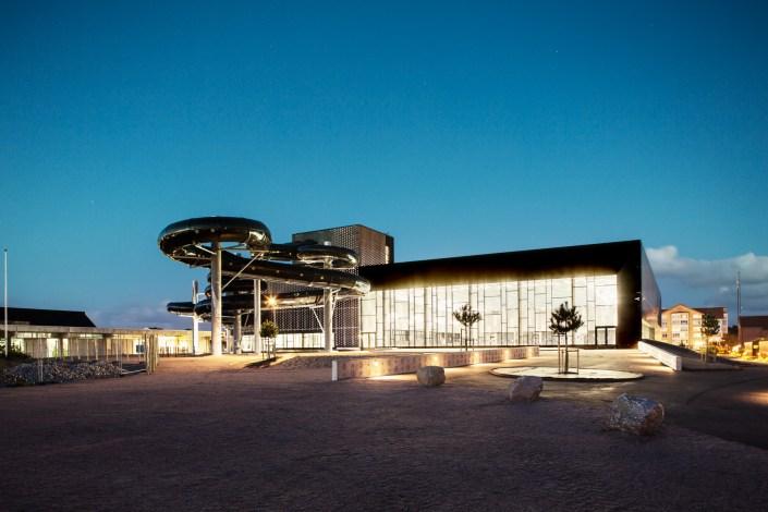 Ystad simhall badhus arkitektur arkitekturfoto