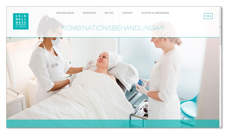 skinwellness reklamfotografi hemsida