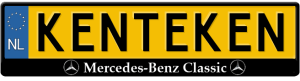 mercedes-benz-classic-kentekenplaathouder