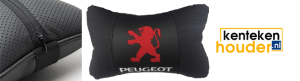 Peugeot-lederen-hoofdsteun-kussen