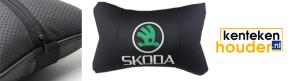 Skoda-lederen-hoofdsteun-kussen