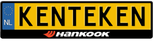 Hankook-kentekenplaathouder