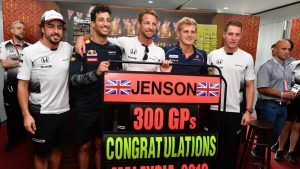 Jenson Button 300GPs