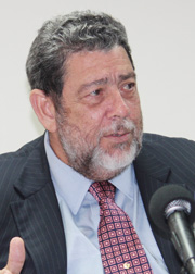 Prime Minister Dr. Ralph Gonsalves. (File photo).