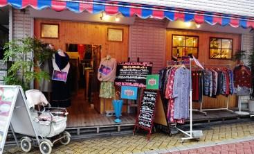 A women's clothing shop in the hip Koenji neighborhood of Tokyo.