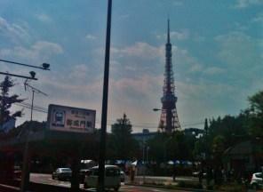 21. Tokyo Tower grainy photo