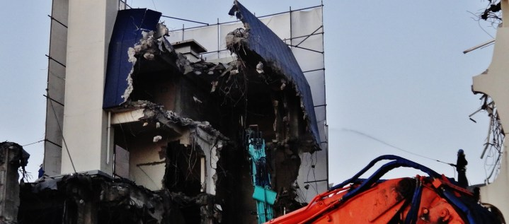 15. Futako Tamagawa building demolition