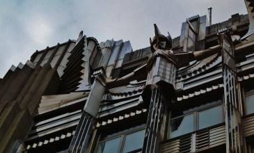 Detail of Niagara Mohawk Building sculpture, Syracuse, New York.