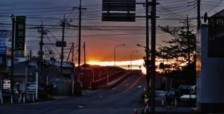 Kawaguchi sunset