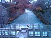 Hamura diversion wier tamagawa josui start