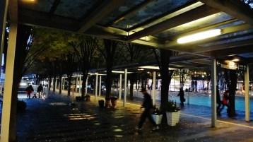 Keyaki Hiroba Plaza covered walkway