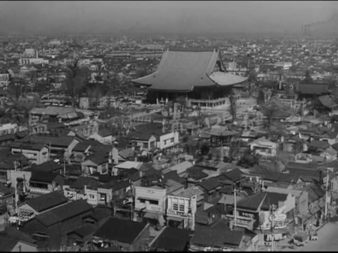 Senso-ji temple, Asakusa, 1956