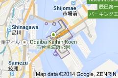 Odaiba, an arbitrary island