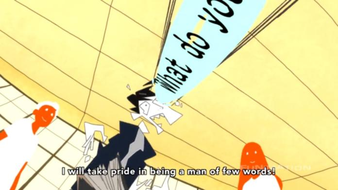 Tatami Galaxy English Conversation Circle 11