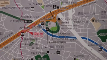 Map of O-Path Ohashi Meguro