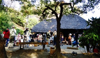 Kawasaki open air folk house craft exhibit