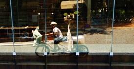 Musashino Art University Library Sou Fujimoto google streetview bike 4
