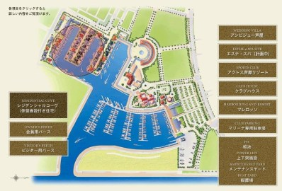 ashiya marina japan residential cove plan