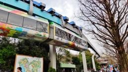Ueno zoo monorail Tokyo Japan 3