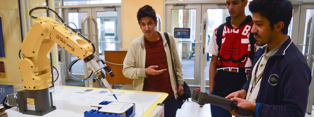 robotic arm demonstration